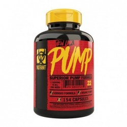 Mutant Pump 154 cápsulas