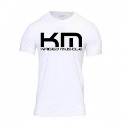 T-shirt Kaged Muscle white